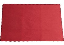 10' x 14' Paper Place Mats, Red, 24/Pack