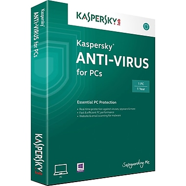 Kaspersky Anti-Virus for Windows (1 User) [Boxed]