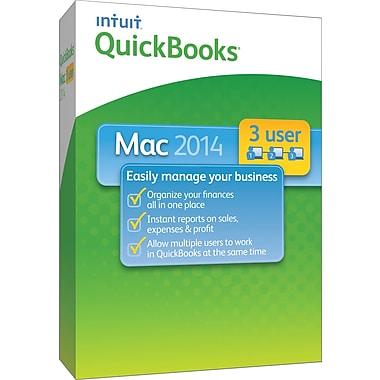 QuickBooks 2014 for Mac (1-3 User) [Boxed]