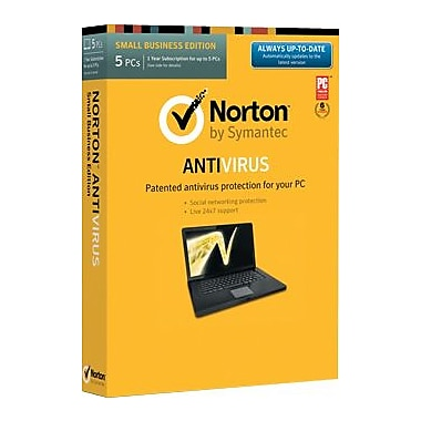 Norton AntiVirus for Windows (1-5 user) (download)