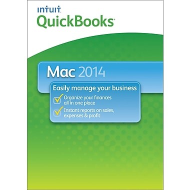 QuickBooks 2014 for Mac (1 User) [Download]