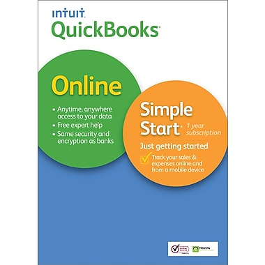 QuickBooks Online Simple Start 2014 for Mac (1 User) [Download]