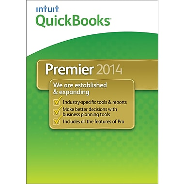 QuickBooks Premier 2014 for Windows (1-User) [Download]