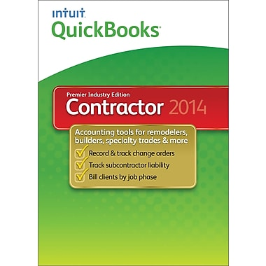 QuickBooks Premier Contractor 2014 for Windows (1-User) [Download]