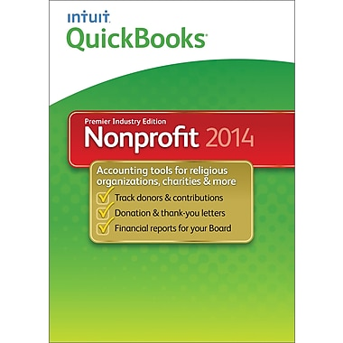 QuickBooks Premier Non-Profit 2014 for Windows (1-User) [Download]