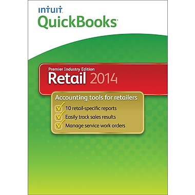 QuickBooks Premier Retail 2014 for Windows (1-User) [Download]