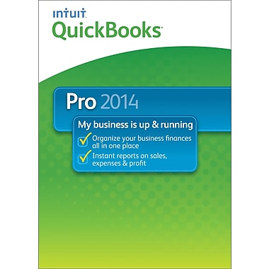 QuickBooks Pro 2014 for Windows (1 User) [Download]