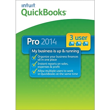 QuickBooks Pro 2014 for Windows (1-3 User) [Download]