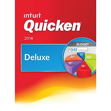 Quicken Deluxe 2014 for Windows (1-User) [Download]
