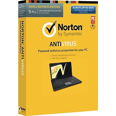 Norton AntiVirus for Windows (1-5 user) (Boxed)