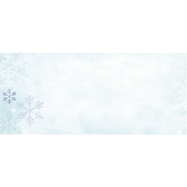 Great Papers® Blue Flakes #10 Envelopes, 40/Pack