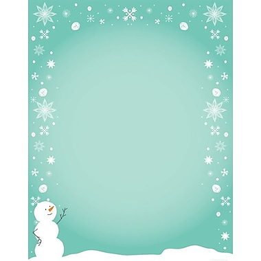Great Papers® Silly Snowman letterhead, 80/Pack