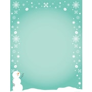 Great Papers® Holiday Stationery Silly Snowman , 80/Count
