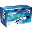 Expo® Chisel Tip Dry-Erase Markers, Black, Dozen