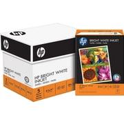 "HP® Bright White Inkjet Paper, 24 lb., 8-1/2"" x 11"", Case"