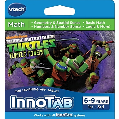Vtech Innotab Software: Teenage Mutant Ninja Turtles, English