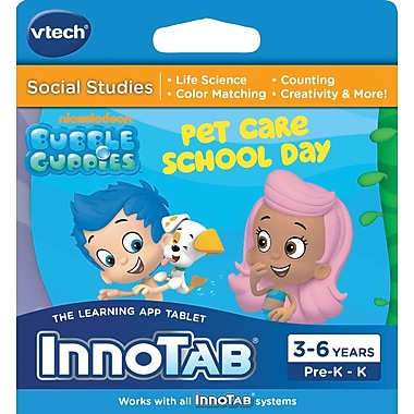 Vtech Innotab Software: Bubble Guppies, English
