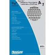 """HeadLine® Rub On Lettering  3/16"""""""