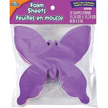 Elmer's® Foam Butterflies, 3/Pack