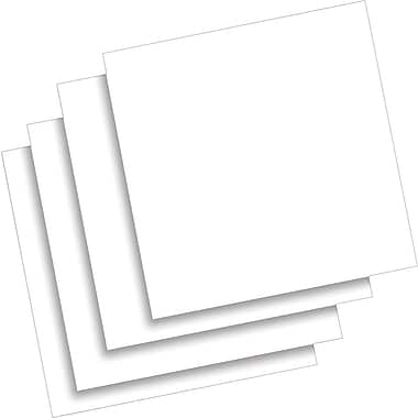 Quartet® Dry - Erase Tiles: Non Magnetic, 2/Pack, 12