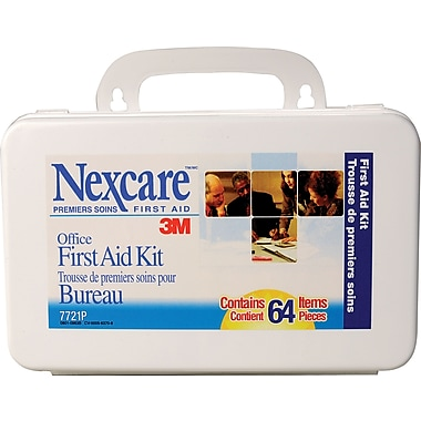 Nexcare™ Office First Aid Kit, 64 Peices