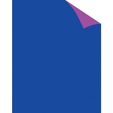 Staples® Two Cool Fluorescent Blue/Purple Poster Board, 22