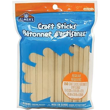 Elmer's® Craft Sticks, 150/Pack