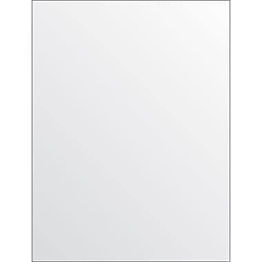 StaplesMD – Carton blanc à surface adhésive, 9 x 12 po, 2/paquet