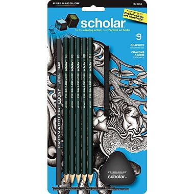 Prismacolor® Scholar 7 Peice Graphite Set Plus 2 Erasers