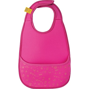 Go Travel Neoprene Bib, Pink