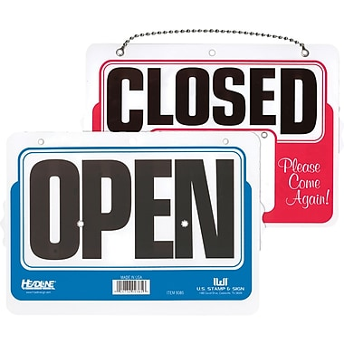 HeadLine® OPEN/CLOSED WILL RETURN Dial - A - Time