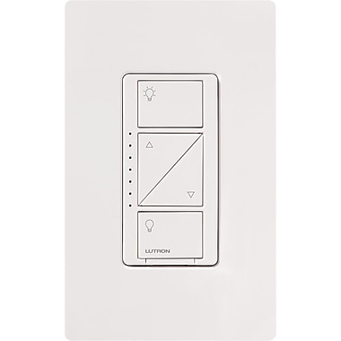 Lutron Caseta™ Wireless 600 Watt In-Wall Dimmer, White