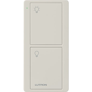 Lutron Pico® On/Off Remote Control, Light Almond
