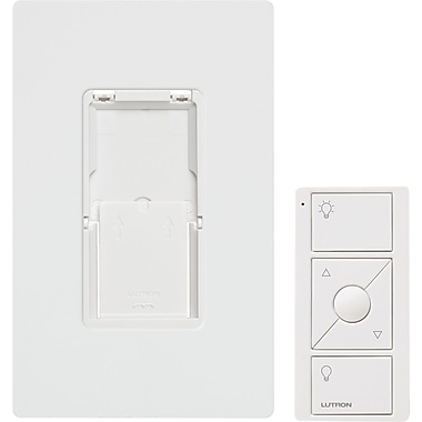 Lutron Pico 174 Remote Control With Wall Mounting Kit White