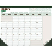 2014-2015 Blueline Academic Monthly Desk Pad, Made from Sugarcane, July-July 22x17