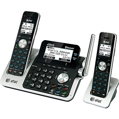 at t tl96271 connect to cell cordless phone system with answering system staples. Black Bedroom Furniture Sets. Home Design Ideas