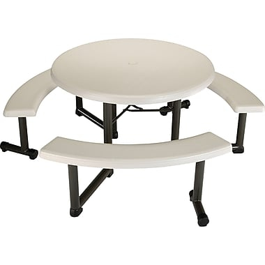 Lifetime 44-Inch Round Picnic Table