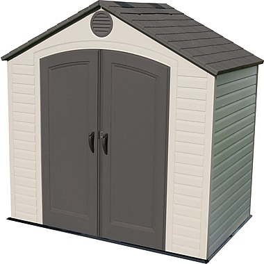 Lifetime Outdoor Storage Shed, 8' x 5'
