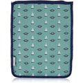 Blue Avocado (eco) E-Sleeve Large, Green Nautical