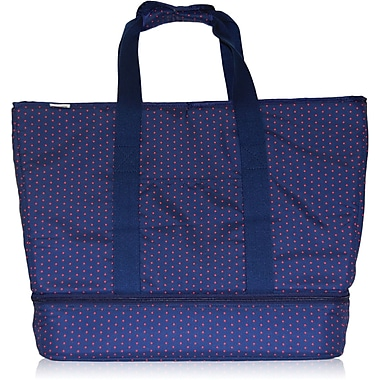 Blue Avocado (eco) Party Tote, Red Dot