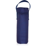 Blue Avocado (eco) Wine Tote, Red Dot