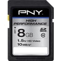 PNY Professional 8GB SD (SDHC) Class 10 Flash Memory Card