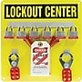 Accuform Signs® Lockout Center Board With Kit and