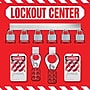 Accuform Signs® Lockout Store Board With Kit and