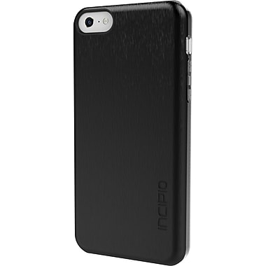 Incipio Feather Shine Ultra Thin Shell with Aluminum Finish for iPhone 5c, Black