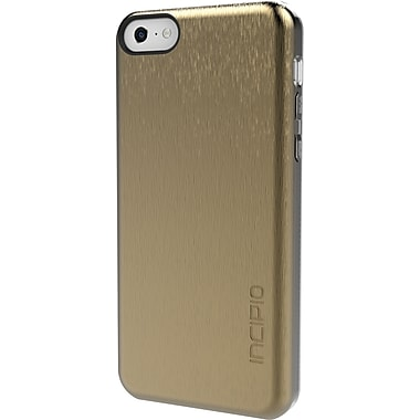 Incipio Feather Shine Ultra Thin Shell with Aluminum Finish for iPhone 5c, Gold