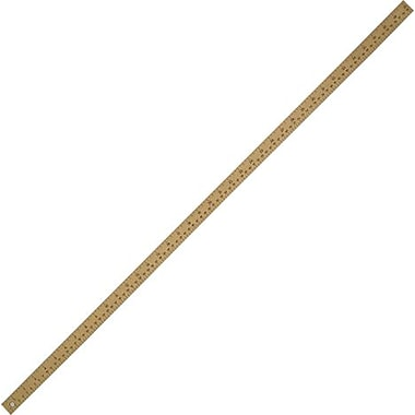 westcott wooden metre stick with plain ends staples