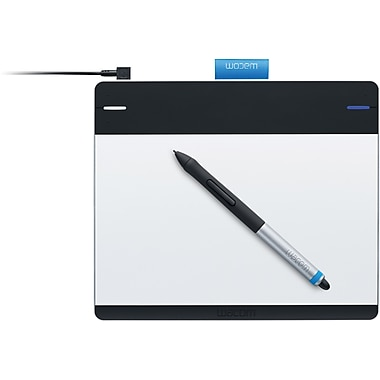 Wacom Intuos CTH480 Pen Touch, Windows and Mac, Black/Silver