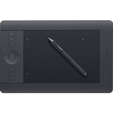 Wacom® (PTH451) Intuos® Small Pro Pen and Touch Tablet