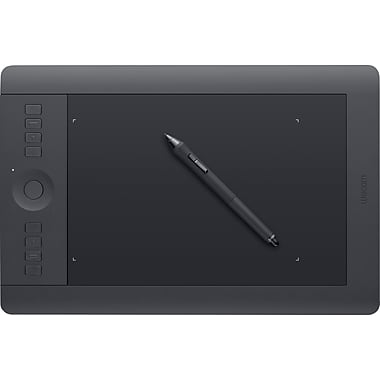 WACOM® Intuos Pro Medium Pen Tablet, Black